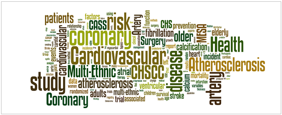 Graphic of biomedical terms and topics